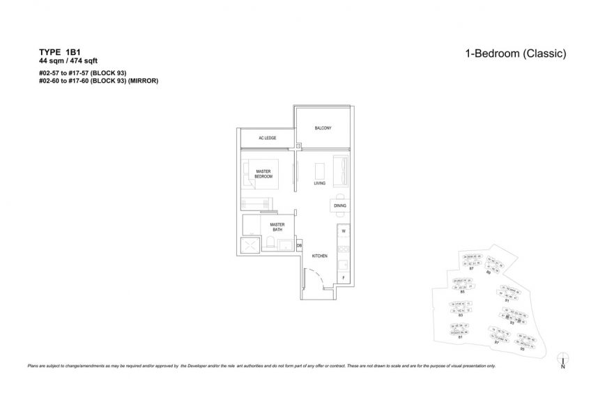 the-florence-residences-floor-plan-1-bedroom-1B1