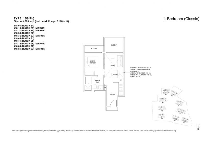 the-florence-residences-floor-plan-1-bedroom-1B2PH