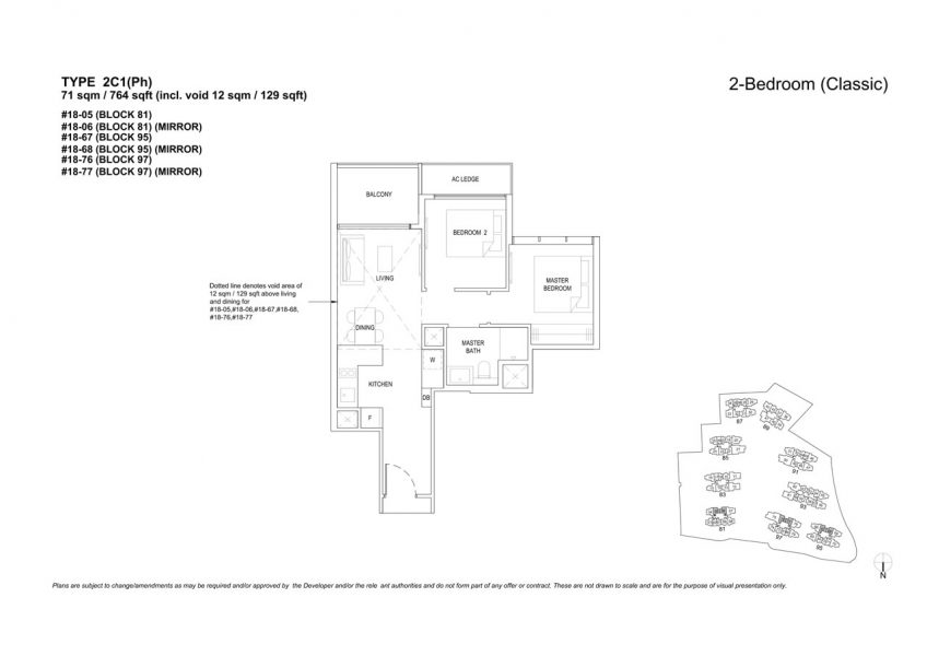the-florence-residences-floor-plan-2-bedroom-2C1PH