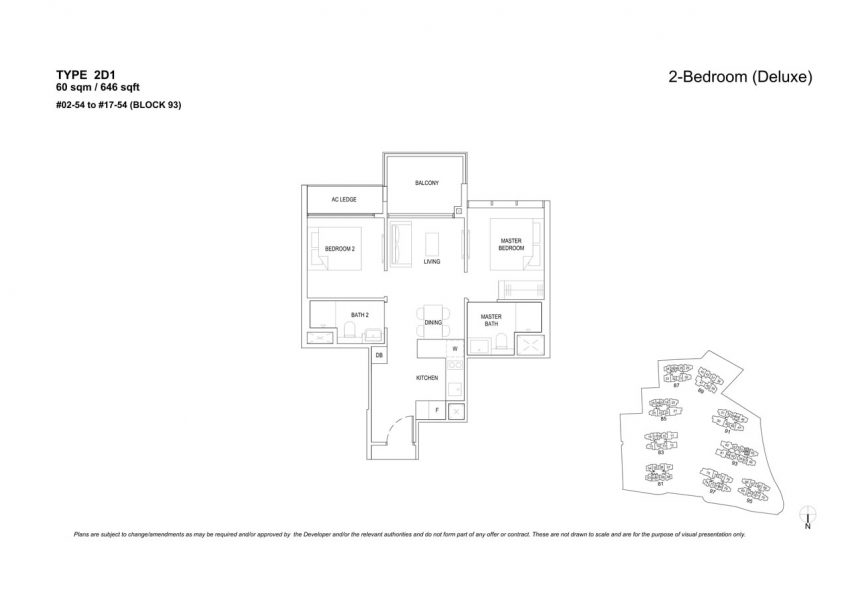 the-florence-residences-floor-plan-2-bedroom-2D1