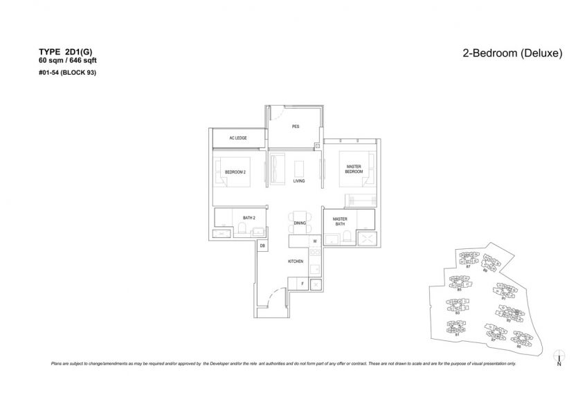 the-florence-residences-floor-plan-2-bedroom-2D1G