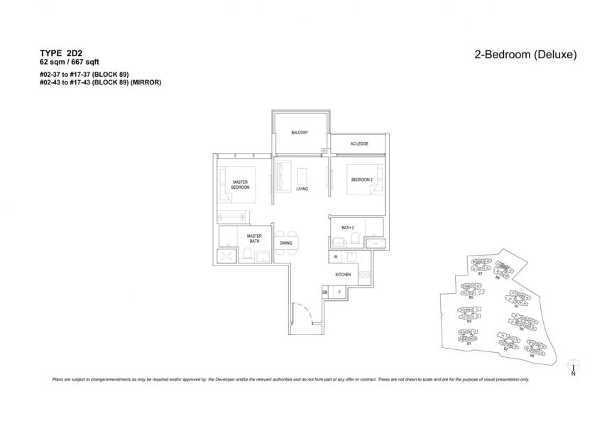 the-florence-residences-floor-plan-2-bedroom-2D2