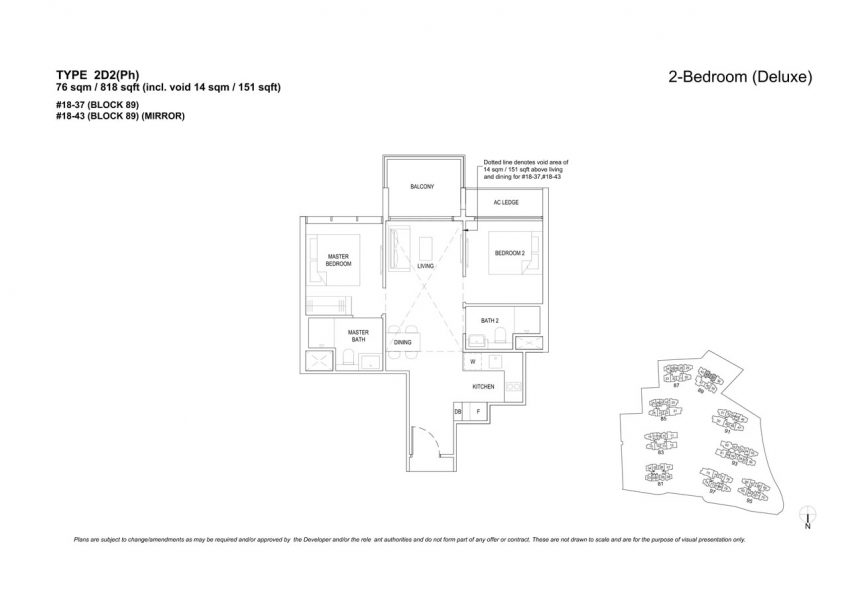 the-florence-residences-floor-plan-2-bedroom-2D2PH