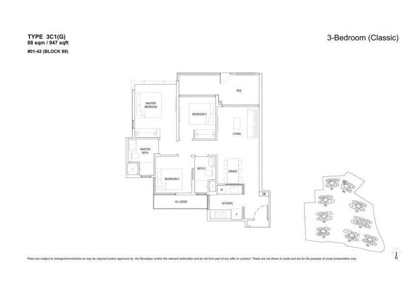 the-florence-residences-floor-plan-3-bedroom-3C1G