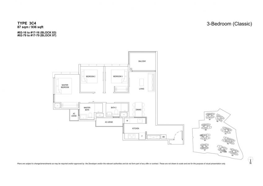 the-florence-residences-floor-plan-3-bedroom-3C4