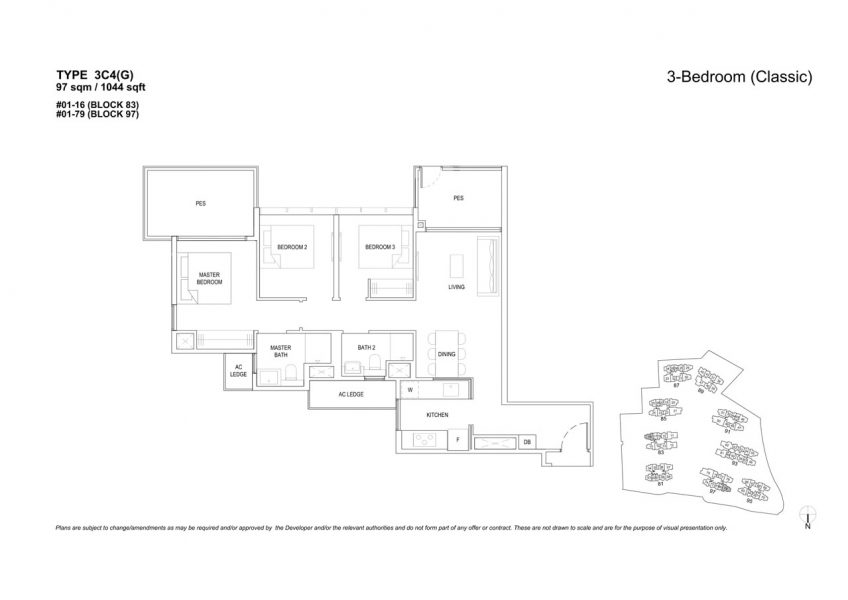 the-florence-residences-floor-plan-3-bedroom-3C4G