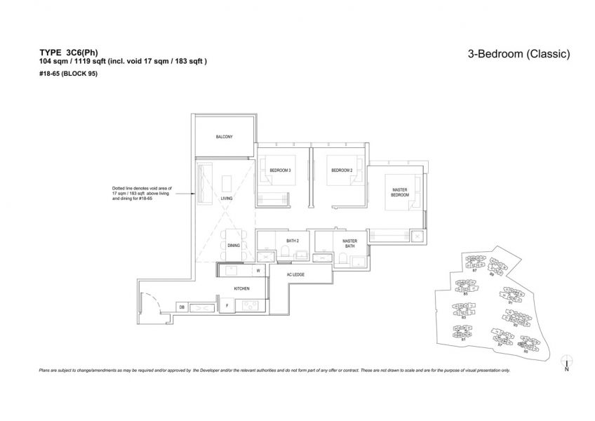 the-florence-residences-floor-plan-3-bedroom-3C6PH
