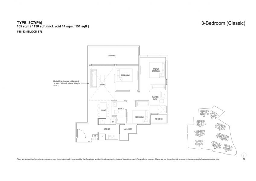 the-florence-residences-floor-plan-3-bedroom-3C7PH