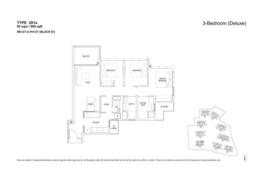 the-florence-residences-floor-plan-3-bedroom-3D1a